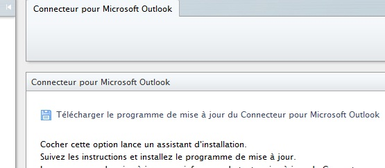 Connecteur pour Microsoft Outlook STRATO Communicator 4